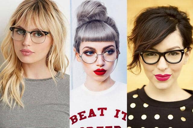 Best Bangs with Glasses Hairstyles for Women [2020]