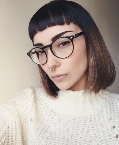Bangs for glasses