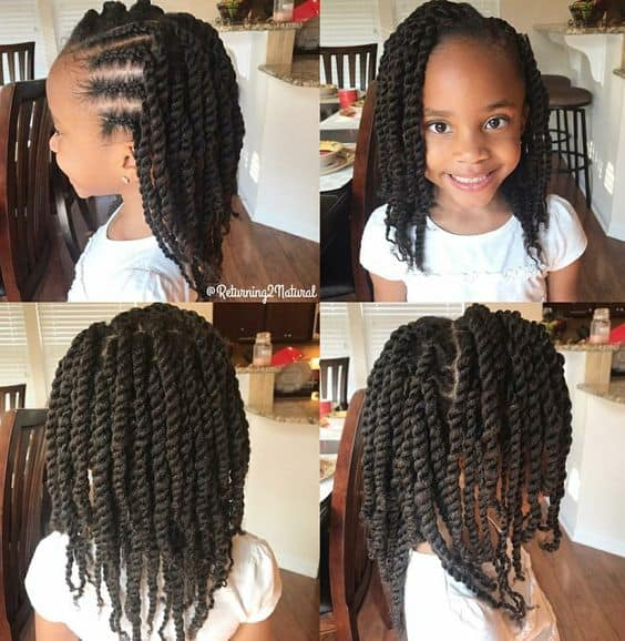Adorable Senegalese Twists for Black Hair