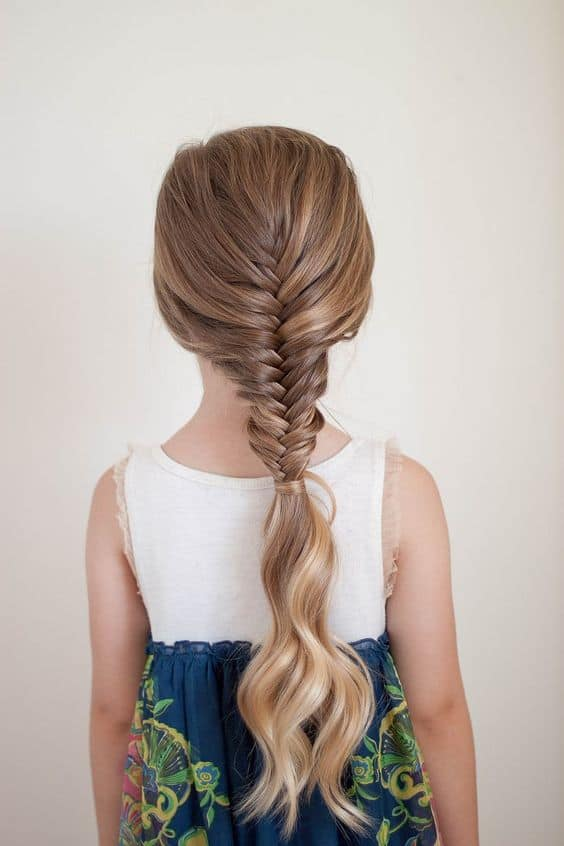 Astounding Fishtail Braid for Long Hair
