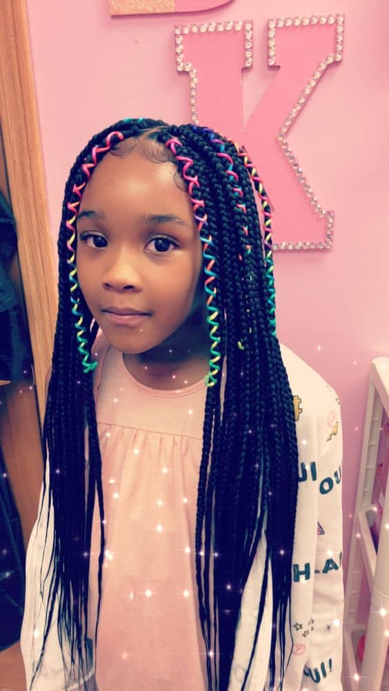 Box Braids for Little Black Girls