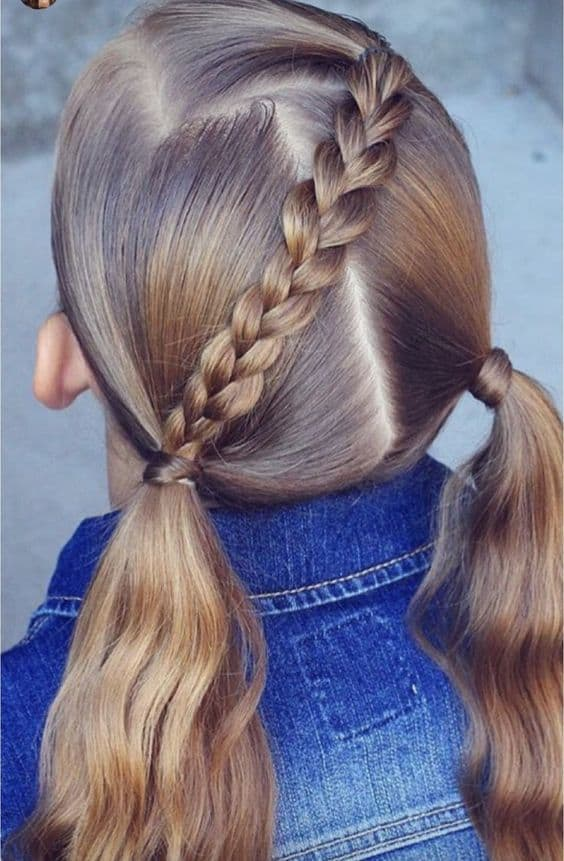 Cascade Braid Pigtails