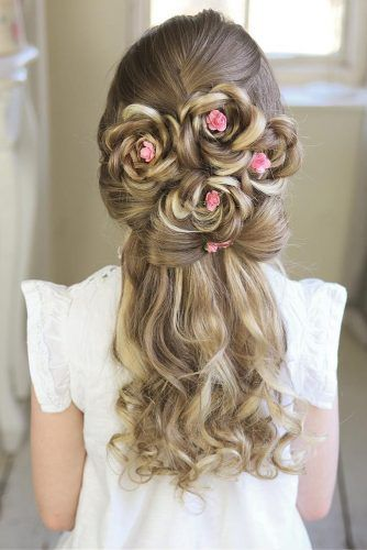 Exceptional Occasion Half Updo