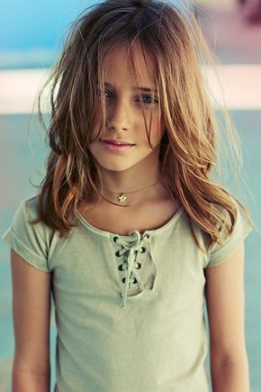 Little Girls Long Layered Hair