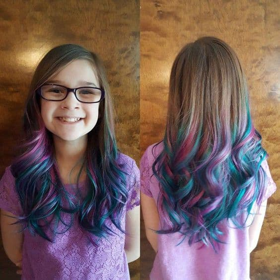 Unicorn Ombre Hairstyle