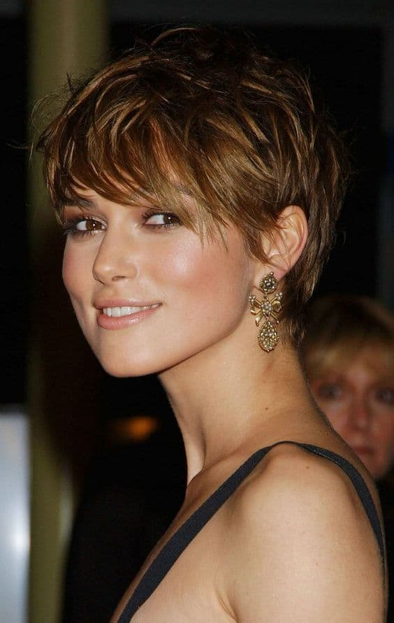 Charming PIXIE CUT WITH LONG BANGS