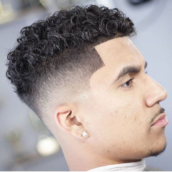 Short Fohawk with Lineup