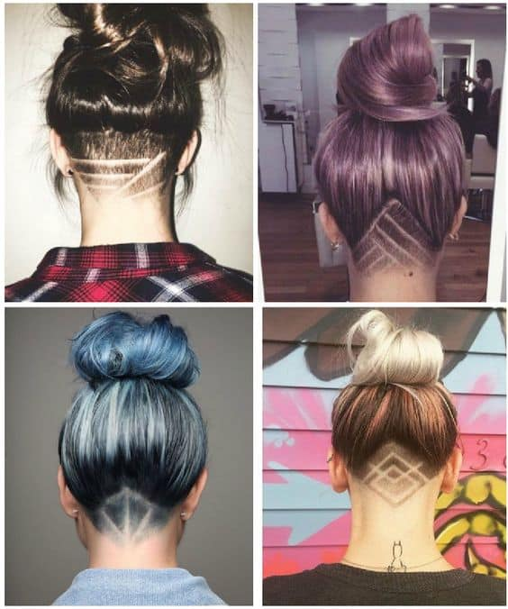 3 Shaved Lines