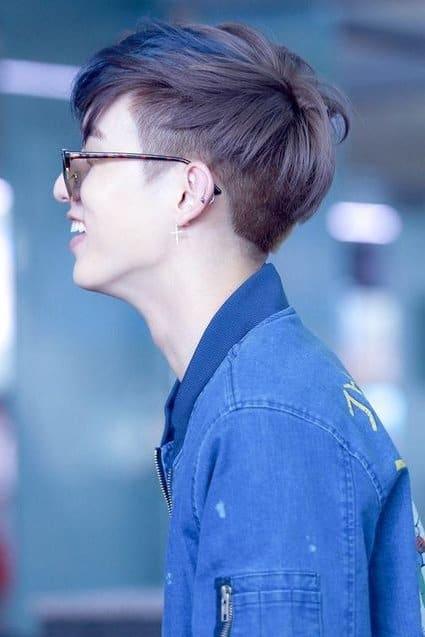Korean Fade Hairstyle