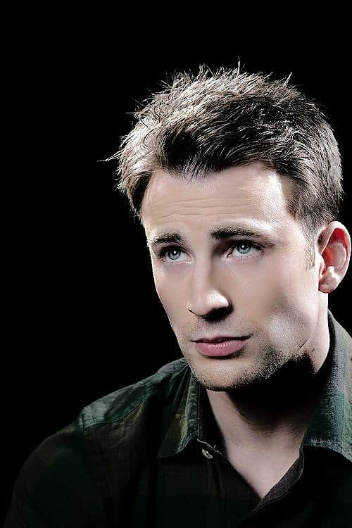 Chris evans hairstyle inspiration