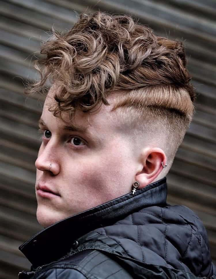 Wavy Undercut with a Disconnected Fade