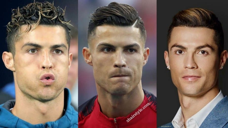 Top Best Cristiano Ronaldo Haircut New Latest 2hairstyle