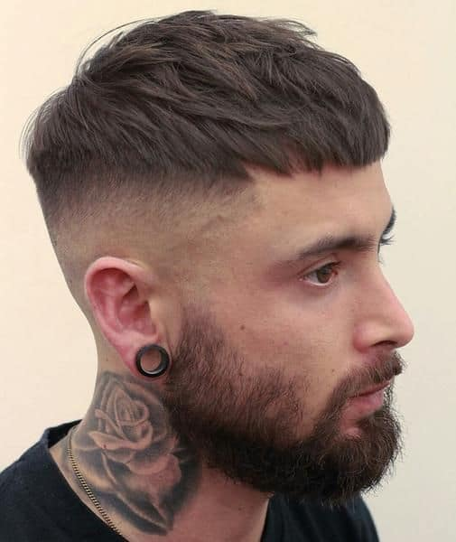 High and Tight - Military haircut styles