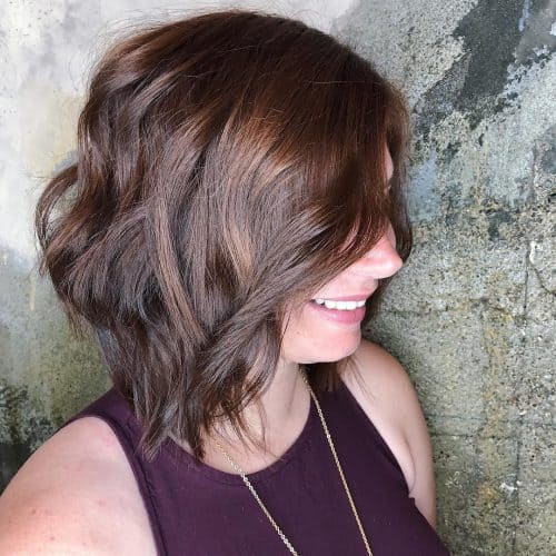 Bob hairstyles with layered