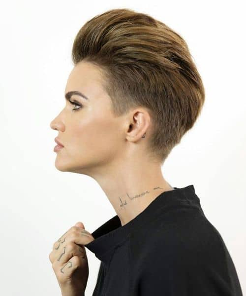 21+ Best Ruby Rose Haircuts Ideas [2020]