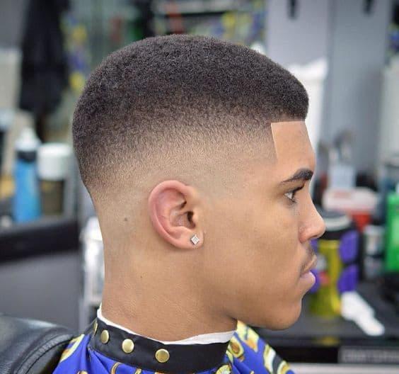 Fade Haircut Black Men