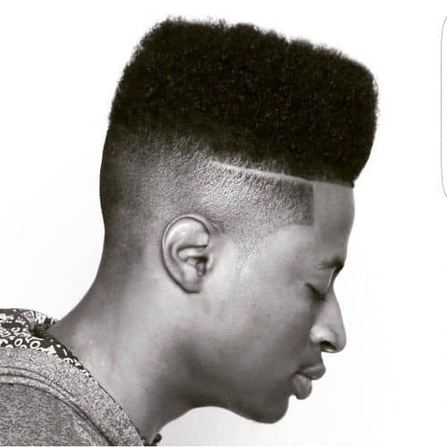 High Top Fade hairucts black men