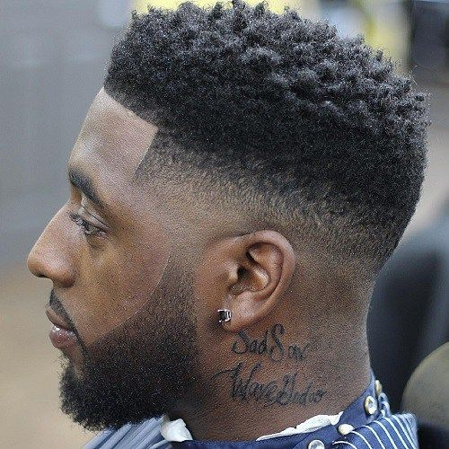 Low Fade Hairstyles for Black Men