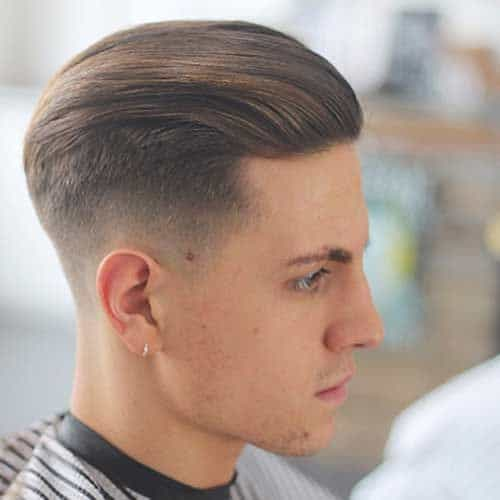 High Fade + Comb Styling