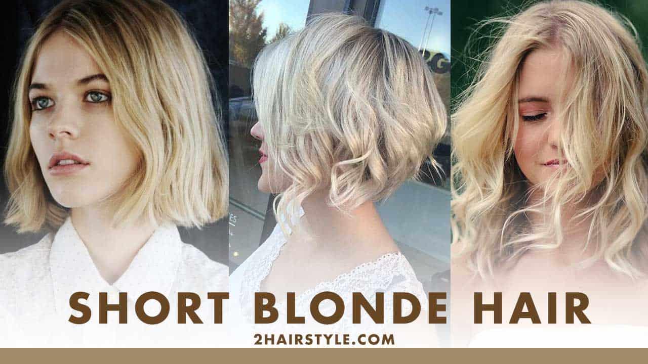 100 Good Looking Short Blonde Hair 2hairstyle